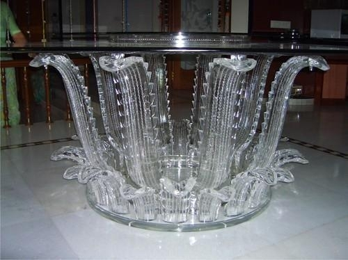 Acrylic Dining Table Round, Acrylic Dining Tables – Swastik Within Acrylic Dining Tables (Image 8 of 25)