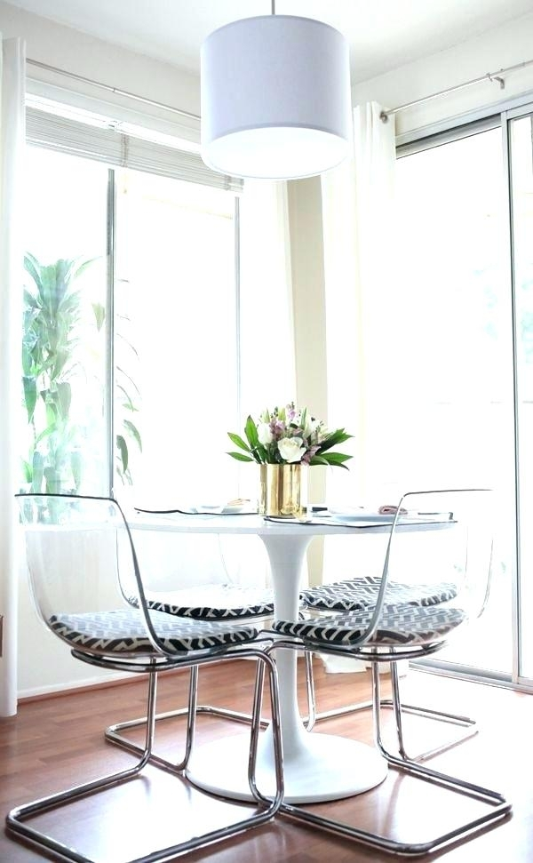 Acrylic Kitchen Table Acrylic Round Dining Table Mesmerizing Clear In Acrylic Round Dining Tables (View 19 of 25)