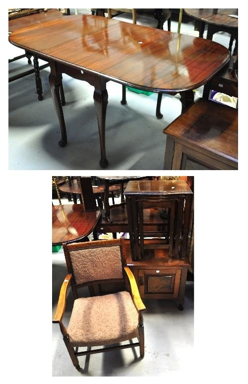 Adam Partridge Auctioneers – The Liverpool Saleroom : A Mahogany Intended For Partridge Dining Tables (Image 1 of 25)