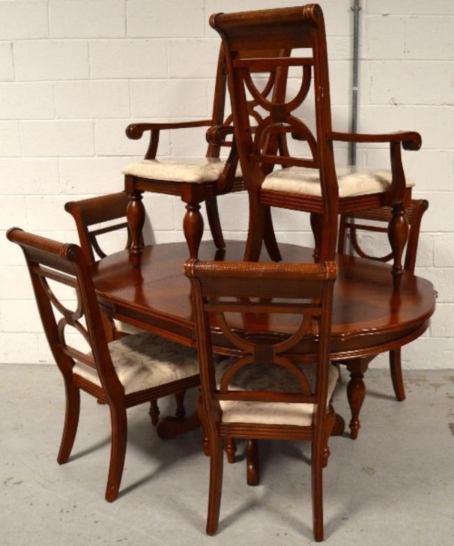 Adam Partridge Auctioneers – The Liverpool Saleroom : A Reproduction Within Partridge Dining Tables (Image 2 of 25)