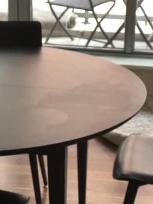 Adams Round Extension Dining Tables – Modern Dining Tables – Modern Pertaining To Amos 7 Piece Extension Dining Sets (Image 4 of 25)