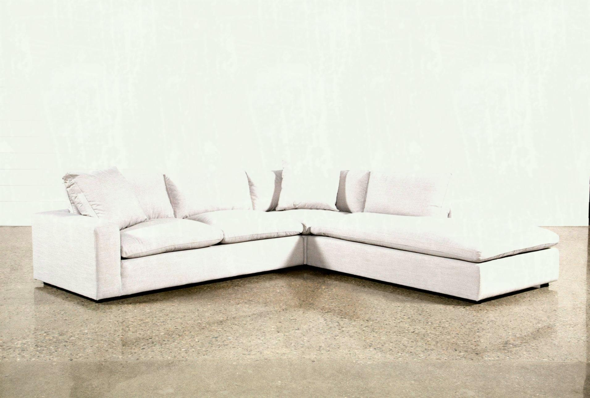 Added To Cart Aquarius Light Grey Piece Sectional W Raf Chaise Regarding Aquarius Light Grey 2 Piece Sectionals With Raf Chaise (Image 2 of 25)
