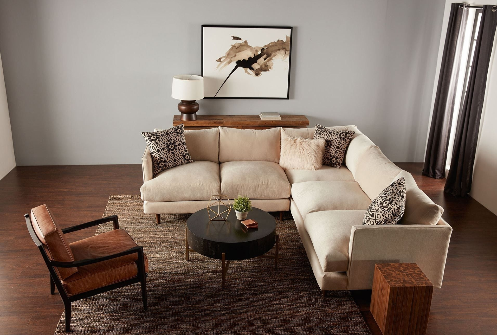 Adeline 3 Piece Sectional | Living Room Redesign | Pinterest With Regard To Adeline 3 Piece Sectionals (View 2 of 25)