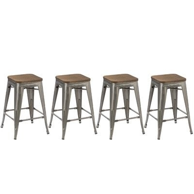 Adjustable Height Bar Stools – A Collectiondorothy – Favorave Throughout Jaxon 5 Piece Extension Counter Sets With Wood Stools (Image 2 of 25)