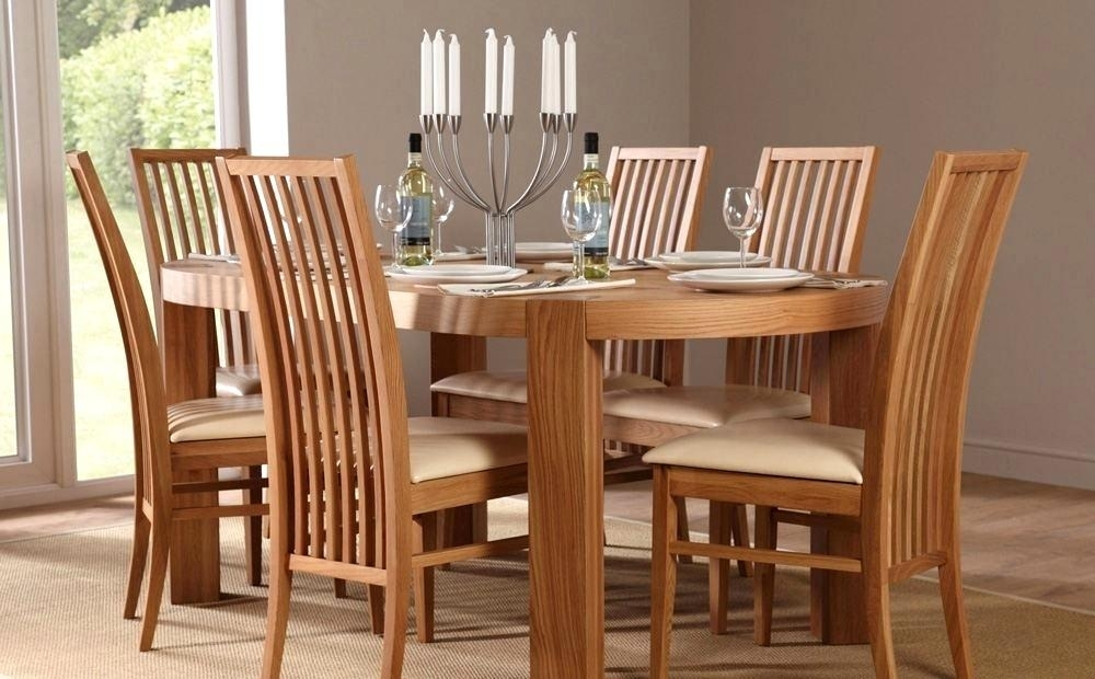 Adorable Oval Oak Dining Table Chairs Great Oval Dining Tables And With Oval Oak Dining Tables And Chairs (Image 3 of 25)