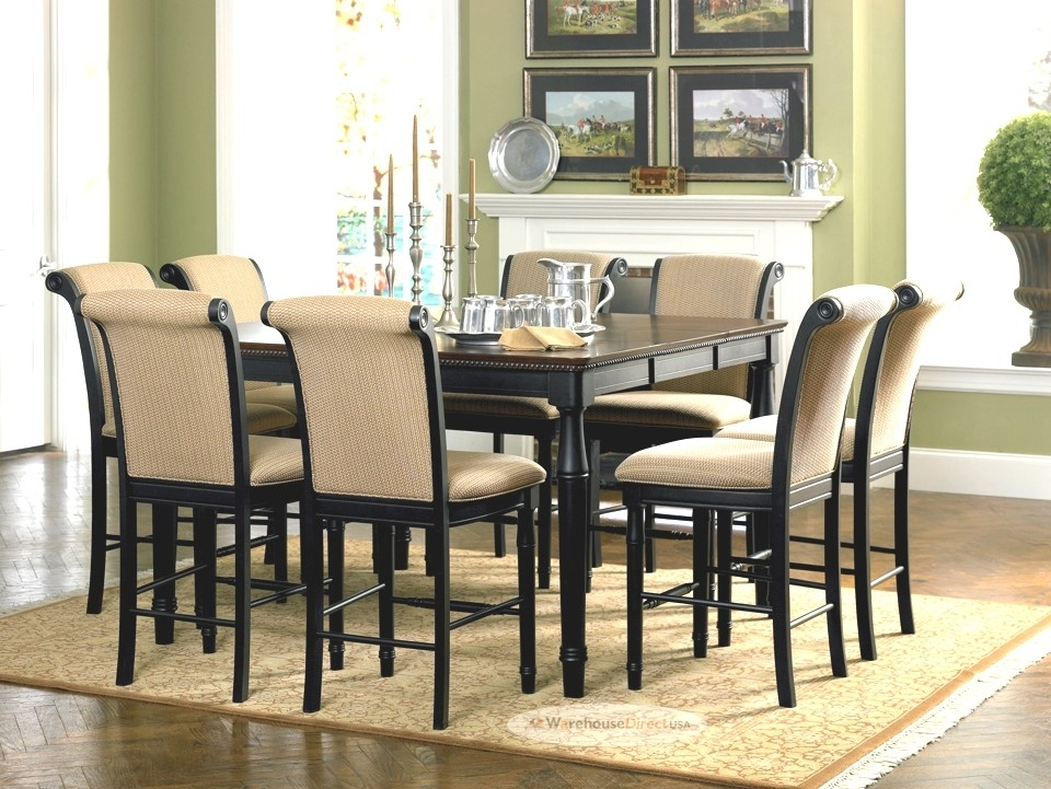 Advantages Of Buying Round Dining Table Set For 8 – Home Decor Ideas Regarding 8 Seater Black Dining Tables (Image 16 of 25)