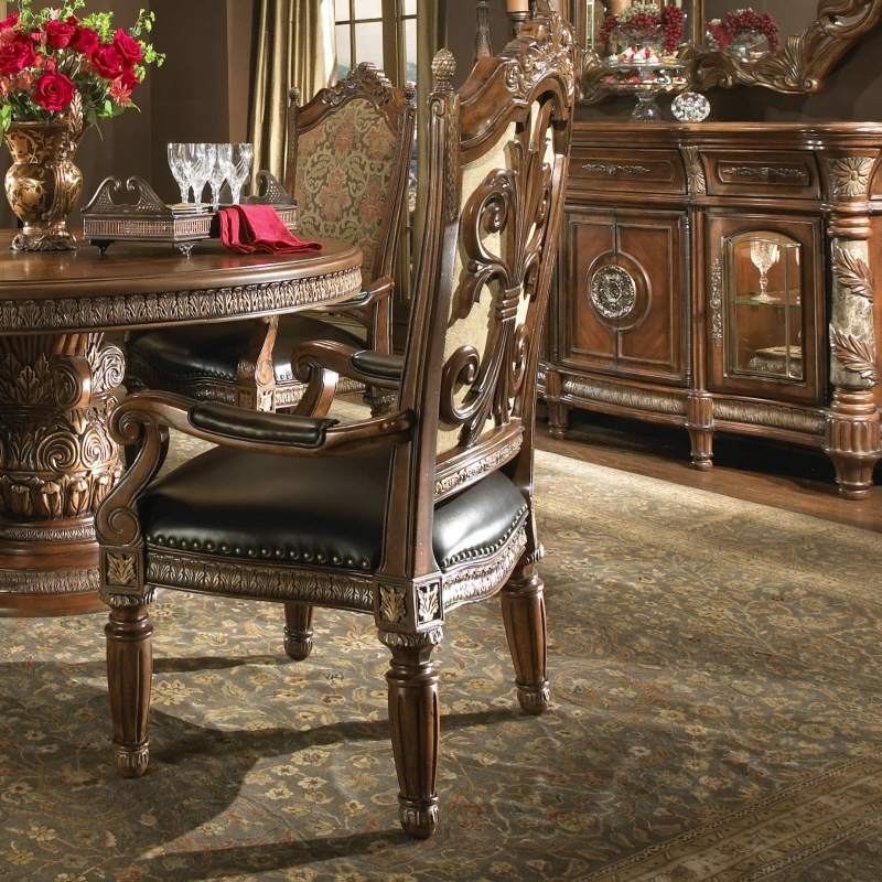 Aico Villa Valencia Dining Room Collection Pertaining To Valencia 60 Inch Round Dining Tables (Image 3 of 25)