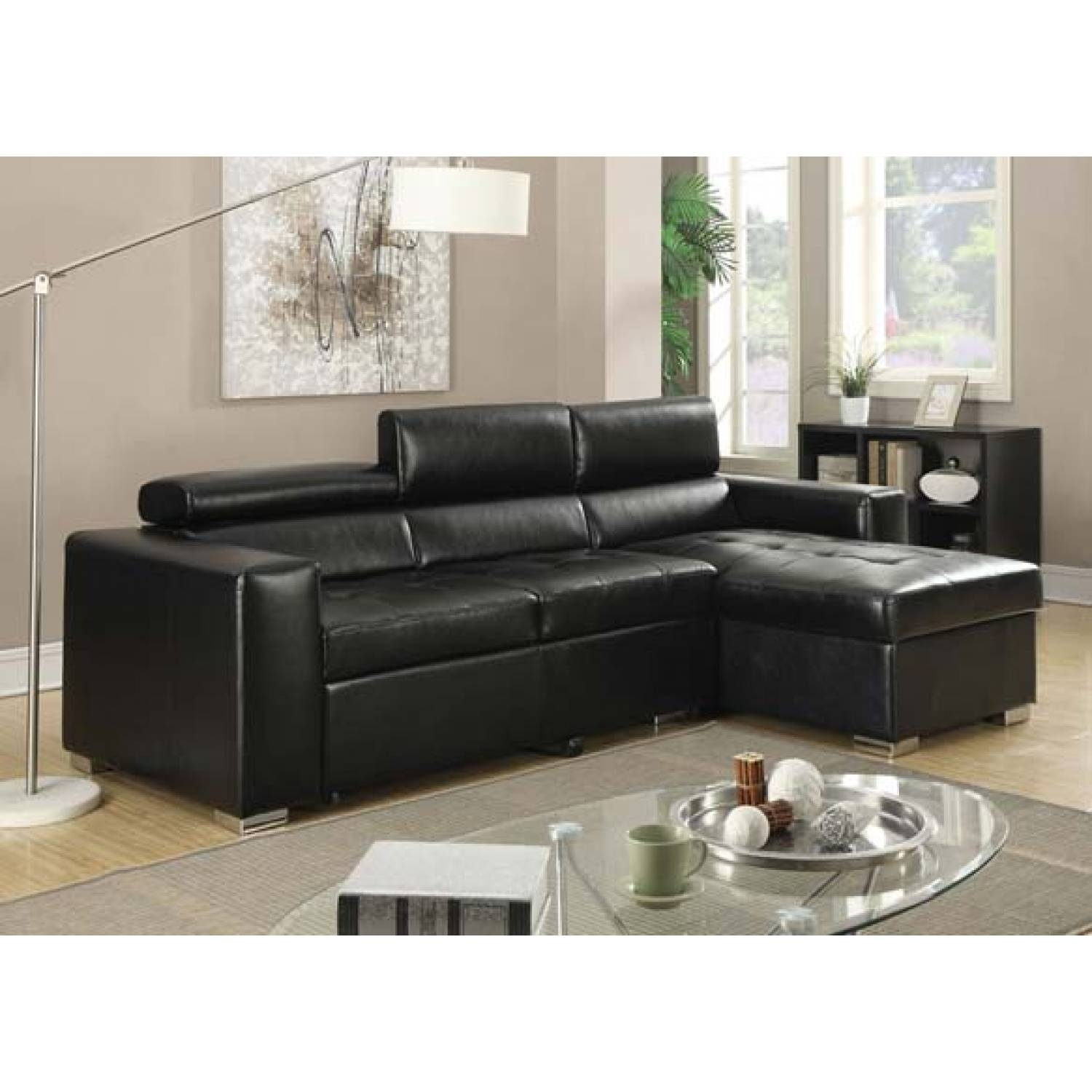 Aidan Sectional Sofa W/pull Out Bed With Regard To Aidan 4 Piece Sectionals (Image 4 of 25)