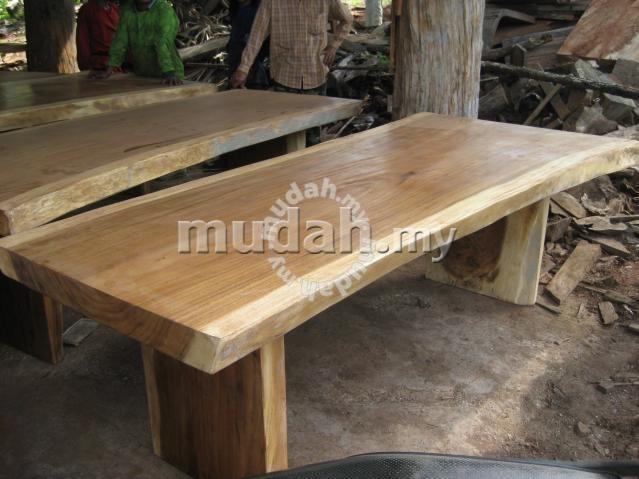 Aipj Acacia Raintree Wood Slab Dining Table – Furniture & Decoration Regarding Acacia Dining Tables (View 9 of 25)