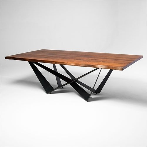 Aksel Dining Table In 2018 | Furniture I Love! | Pinterest With Contemporary Base Dining Tables (Image 1 of 25)