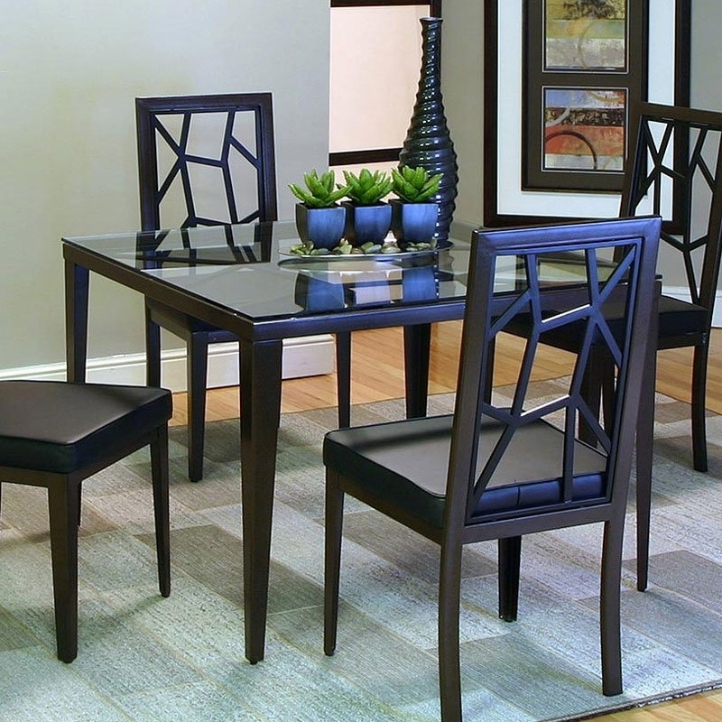 Alayna Dining Table (Java) Cramco | Furniture Cart For Java Dining Tables (Image 1 of 25)