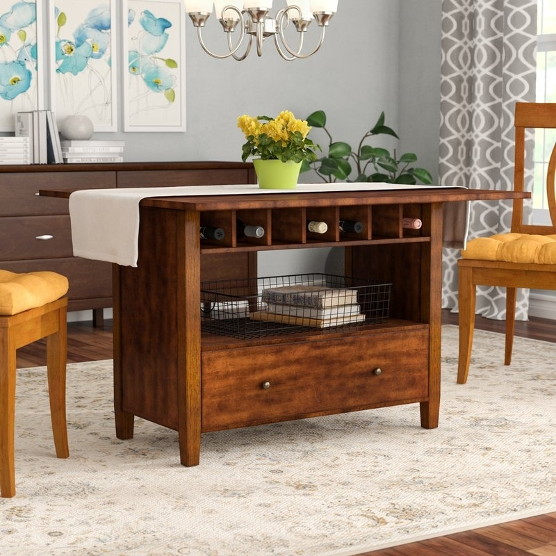 Alcott Hill Emestine Drop Leaf Dining Table & Reviews | Wayfair For Cheap Drop Leaf Dining Tables (View 2 of 25)