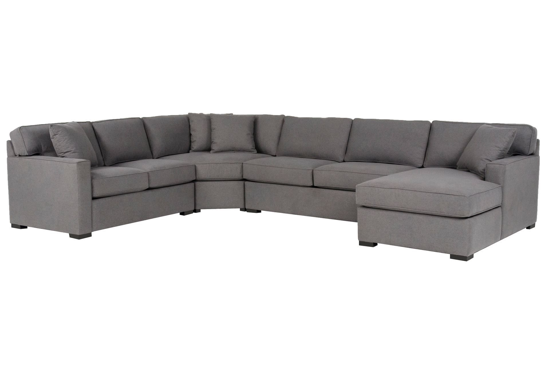 Alder 4 Piece Sectional   Dream Home – Sit Down   Pinterest   Living Throughout Turdur 3 Piece Sectionals With Laf Loveseat (Image 1 of 25)