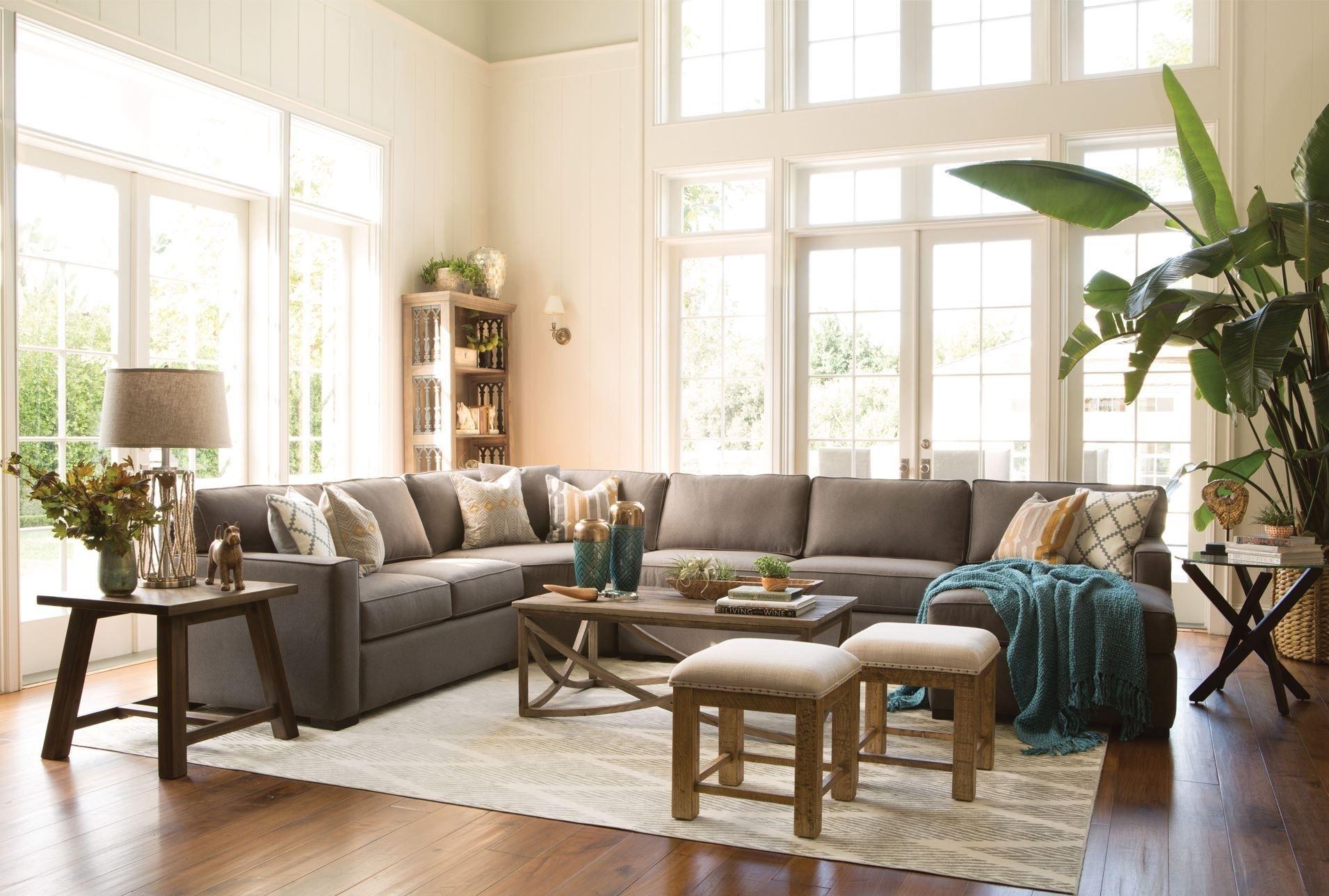 Alder 4 Piece Sectional | Lavender – Living Room | Pinterest Intended For Alder 4 Piece Sectionals (Image 5 of 25)