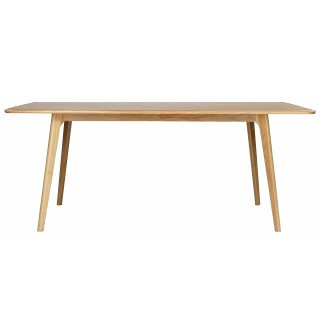 Aleksander Solid Oak Dining Table | Mattblatt In Solid Oak Dining Tables (Image 1 of 25)