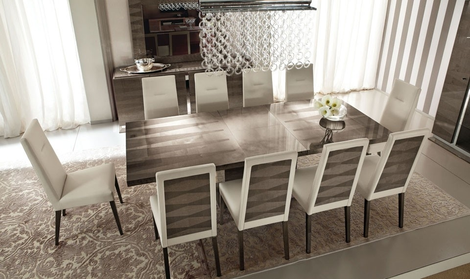 Alf Contemporary Dining Set Monaco For Monaco Dining Sets (Image 3 of 25)