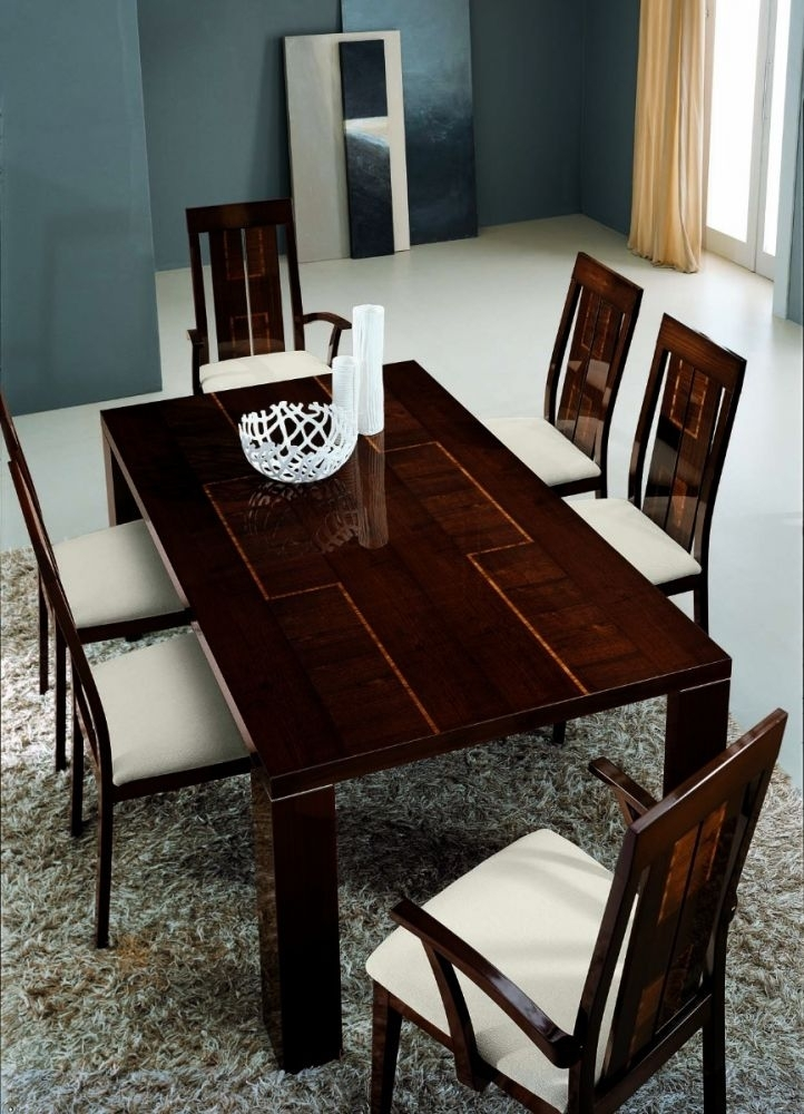 Alf Pisa Extending Dining Table 205/295   Michael O'connor Furniture With Regard To Pisa Dining Tables (Image 2 of 25)