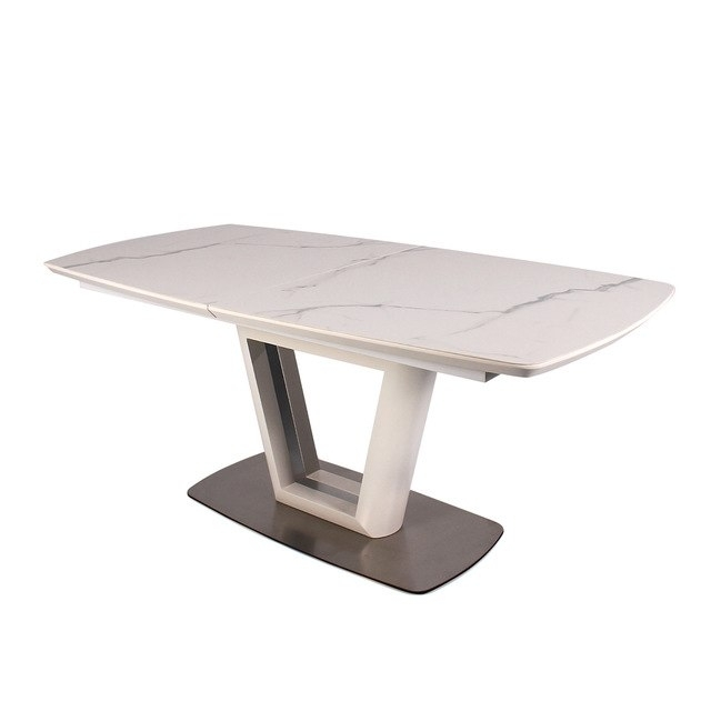 Aliexpress : Buy Fancy Fix Glass Folding Dining Table For Within Glass Folding Dining Tables (Image 3 of 25)