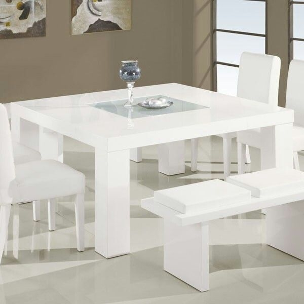 All White 8 Seater Dining Table | My Home Decor Possibilities Within White 8 Seater Dining Tables (Image 4 of 25)