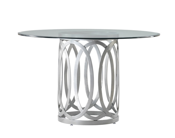 Allan Copley Designs Alchemy Dining Base With Round Top 48 Pertaining To Grady Round Dining Tables (Image 2 of 25)