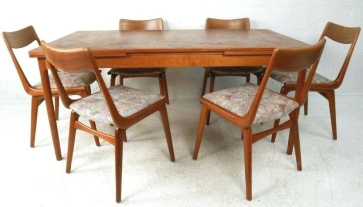 Alluring Scandinavian Dining Room Chairs Design Set Tables Sets Teak Throughout Scandinavian Dining Tables And Chairs (View 15 of 25)