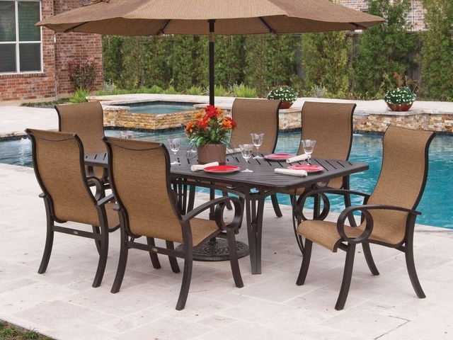 Aluminum – Chair King Pertaining To Market 7 Piece Dining Sets With Side Chairs (View 18 of 25)