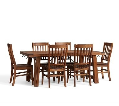 Amazing 38 Inch Dining Table Pottery Barn 38 Inch Wide Dining Table Regarding Barn House Dining Tables (Image 6 of 25)