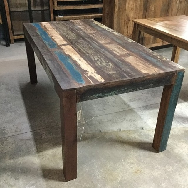 Amazing Alexa Reclaimed Wood Coffee Table West Elm Intended For With Regard To Oval Reclaimed Wood Dining Tables (Image 2 of 25)