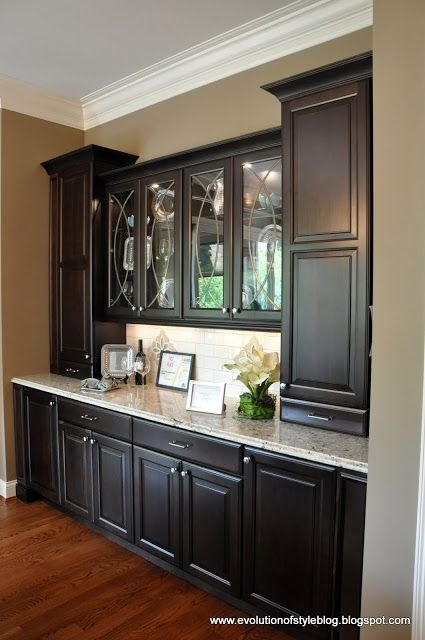 Amazing Built In Buffet – This Is What I See As The Butler's Pantry Inside Dining Room Cabinets (Image 5 of 25)