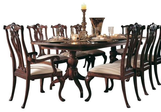 Amazing Ideas 7 Piece Dining Room Table American Drew Cherry Grove 7 For Partridge 7 Piece Dining Sets (Image 6 of 25)