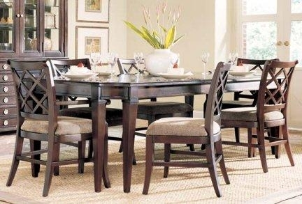 Amazing Living Room Table And Chairs And Alluring Dining Room Table Inside 6 Chairs Dining Tables (Image 10 of 25)