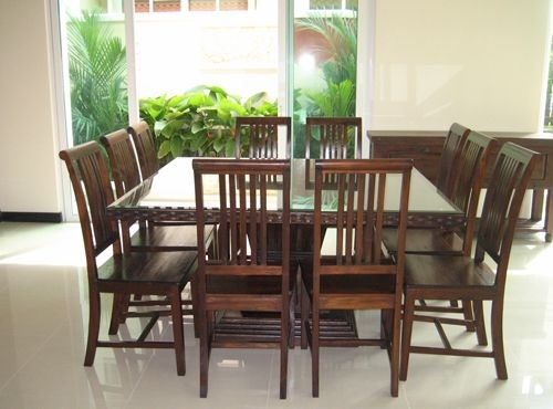 Amazing Of 8 Seat Dining Tables 8 Seater Dining Room Table With Regard To 8 Seater Dining Tables (Image 13 of 25)