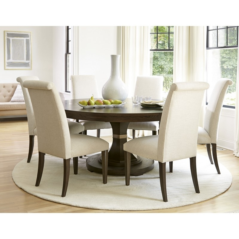 Amazing Various Dinette Table And Chairs Round Pedestal Dining Sets Throughout Pedestal Dining Tables And Chairs (Image 7 of 25)