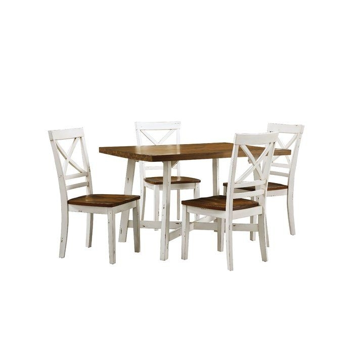 Amelia 5 Piece Dining Set | Anita! | Pinterest | Dining And Kitchens With Regard To Jameson Grey 5 Piece Counter Sets (Image 3 of 25)
