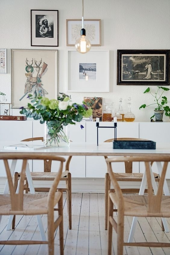 Amelot Wood Armchair Natural   For The Home   Pinterest   Dining Regarding Lassen 5 Piece Round Dining Sets (View 15 of 25)