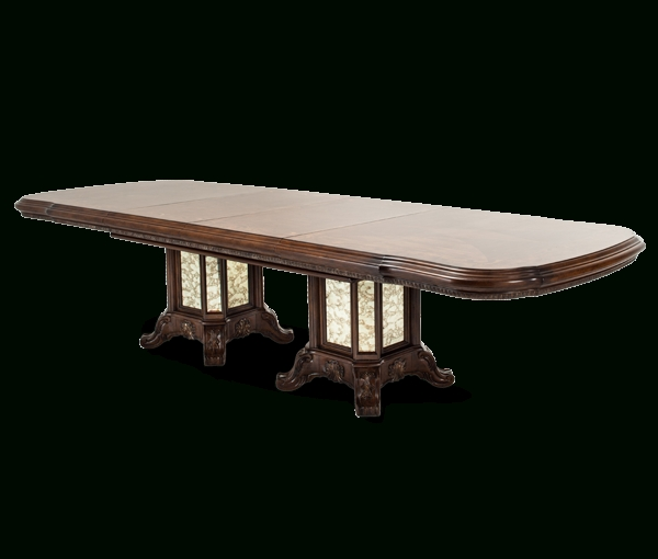 Amini Rectangular Wood Dining Table (3 Pc)   09002229   Tables Pertaining To Caden Rectangle Dining Tables (View 12 of 25)