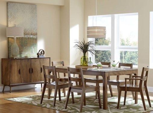 Amish Dining Room Furniture | Custom Amish Dining Room Furniture For Weaver Ii Dining Tables (Image 2 of 25)