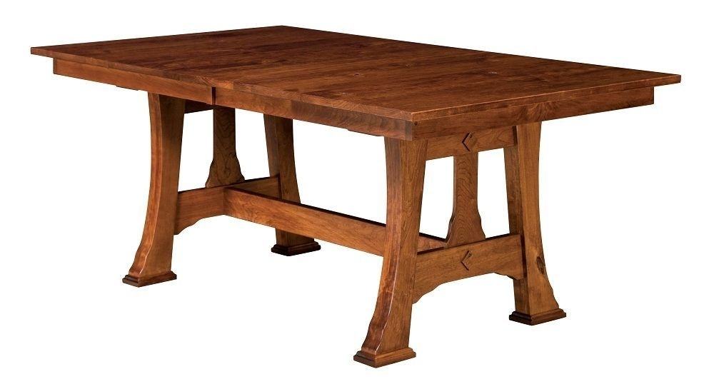 Featured Photo of Craftsman Rectangle Extension Dining Tables
