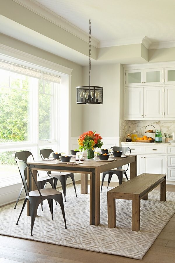 Featured Photo of Amos 6 Piece Extension Dining Sets