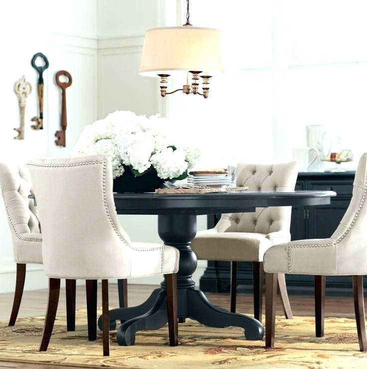 Amusing Black Circle Chair Black Circle Table Best Round Dining Within Black Circular Dining Tables (Image 2 of 25)