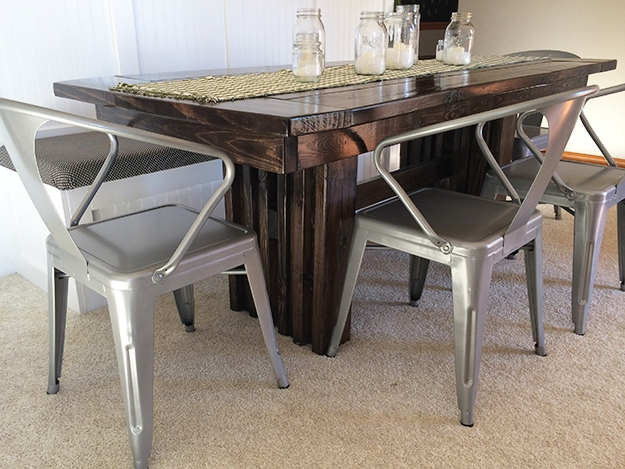 Ana White | Modern Dining Table – Diy Projects With Regard To Modern Dining Tables (Image 2 of 25)