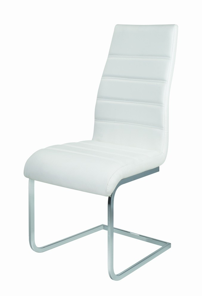 Angela High Back Dining Chair (Multiple Colours) – Modish Furnishing With Regard To High Back Leather Dining Chairs (Image 5 of 25)