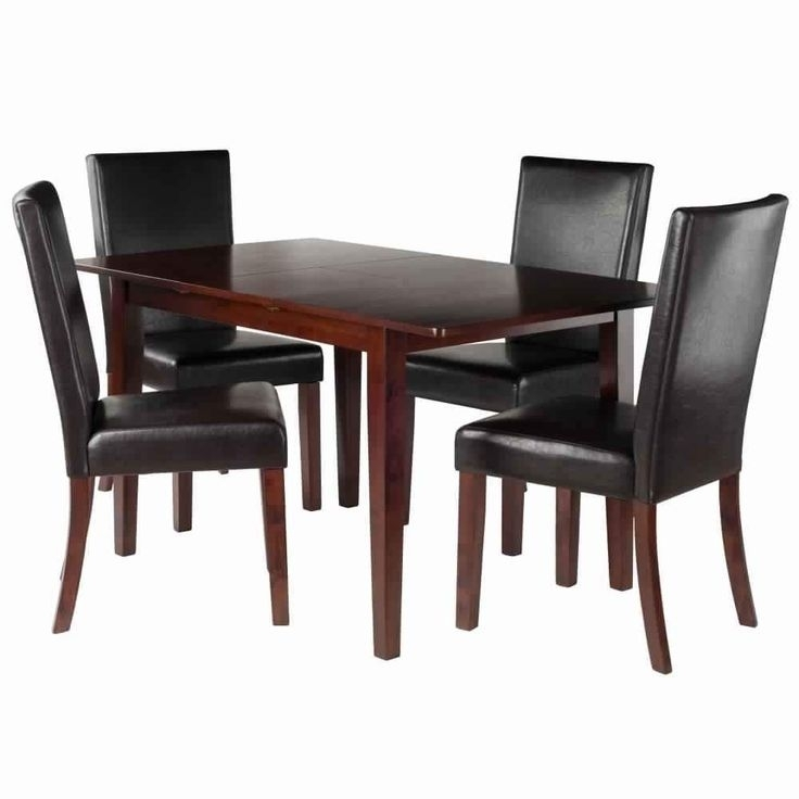 Anna 5 Pc Dining Table Set W/ Chairs In 2018 | Products | Pinterest In Walden 7 Piece Extension Dining Sets (View 24 of 25)