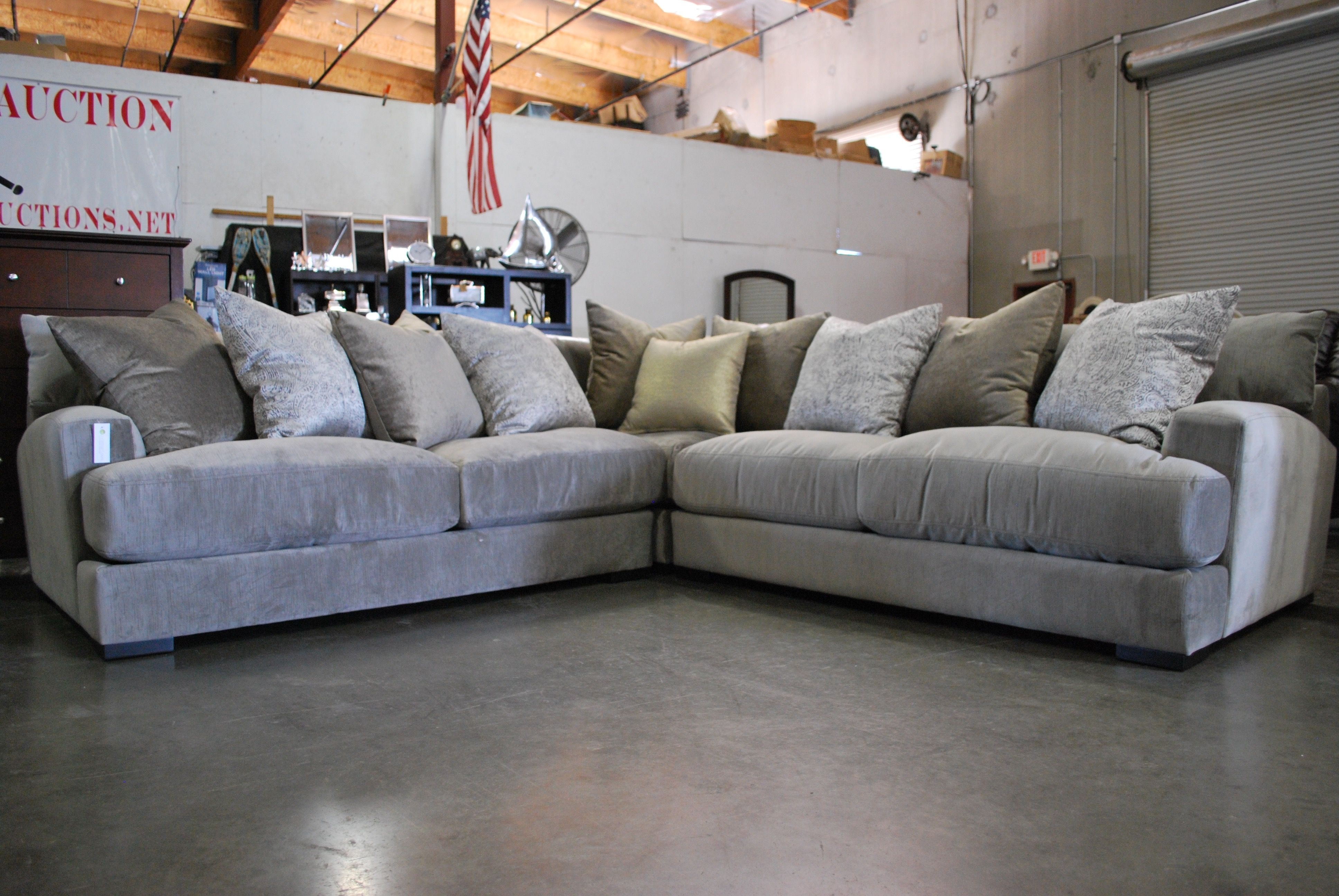 Another Gorgeous Jonathan Louis Sectional That You Just Melt Into In Marcus Chocolate 6 Piece Sectionals With Power Headrest And Usb (Image 1 of 25)