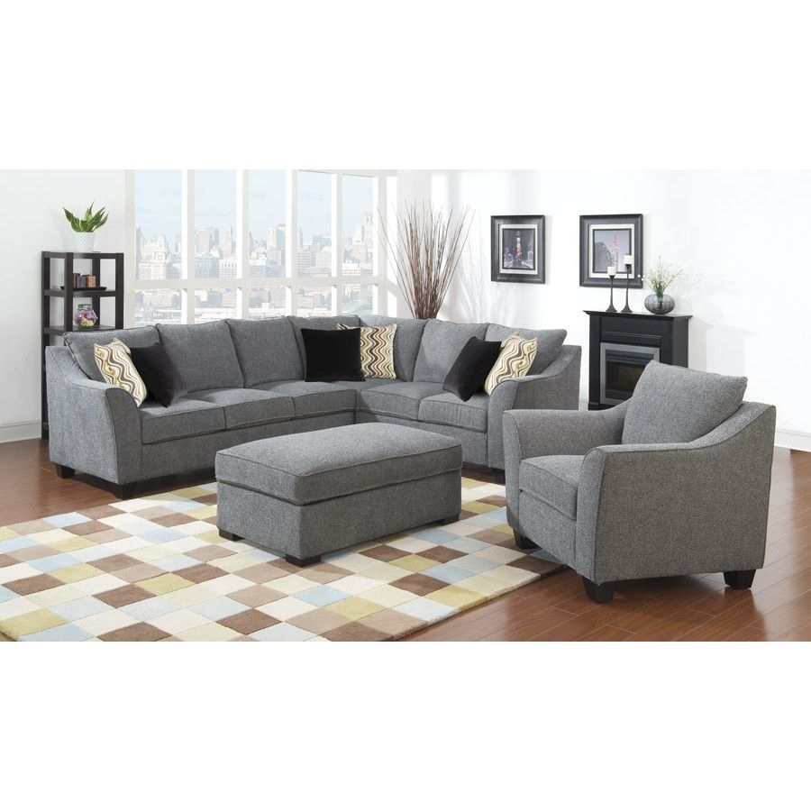 Anselme Sectional | Pinterest | Living Room Sets, Room Set And Throughout Blaine 3 Piece Sectionals (Image 3 of 25)