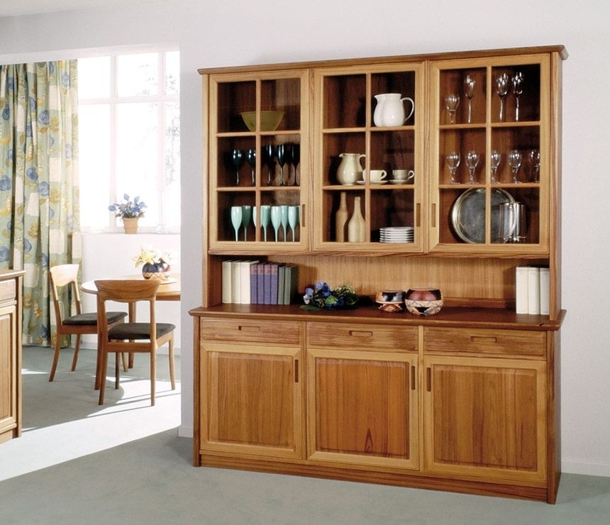 Antique Crockery Units – Google Search | Crockery Unit | Pinterest Intended For Dining Room Cabinets (Image 6 of 25)