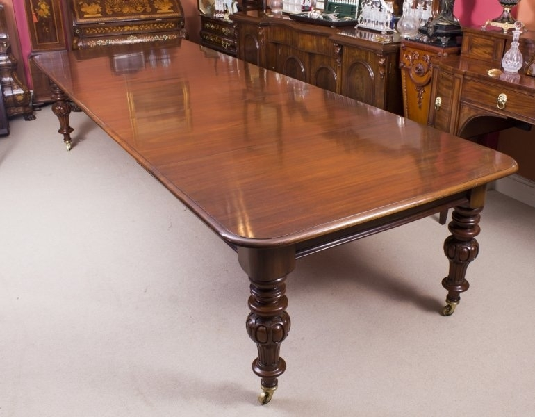 Antique Dining Table | Antique Victorian Dining Table | Ref. No (View 17 of 25)