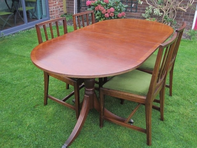 Antique Extending Dining Table – Local Classifieds | Preloved In Mahogany Extending Dining Tables And Chairs (Image 5 of 25)