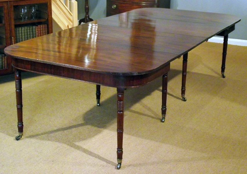 Antique Extending Table / Georgian Mahogany Dining Table : Antique With Regard To Mahogany Extending Dining Tables And Chairs (Image 7 of 25)