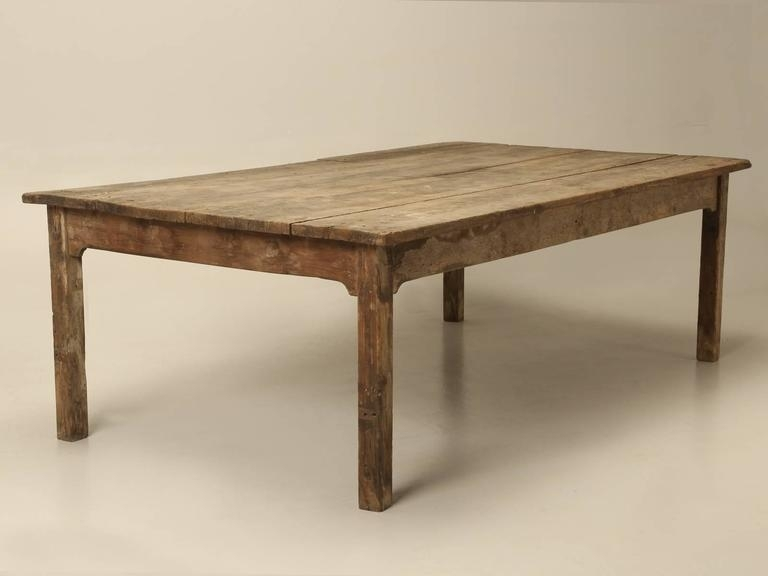 Antique Farm House Dining Table From France For 12 At 1Stdibs Regarding Barn House Dining Tables (View 10 of 25)